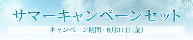 サマーキャンペーンセット キャンペーン期間:8月31日(金)